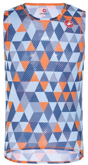 Castelli Pro Mesh Bielizna górna pomarańczowy/niebieski